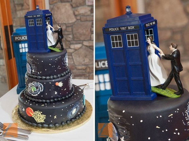 Cool Nerdy Wedding Cakes For The Geeky Couple