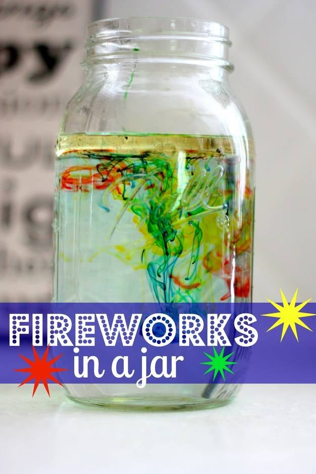 Or use a jar to make fireworks.
