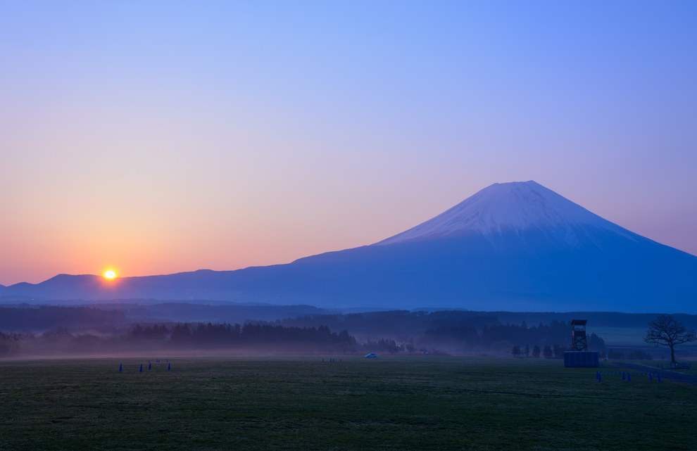 3. Mount Fuji, Honshu Island, Japan