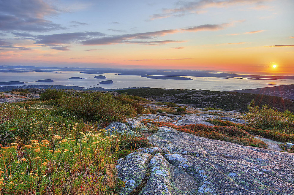 15. Cadillac Mountain, Acadia National Park, Maine, USA