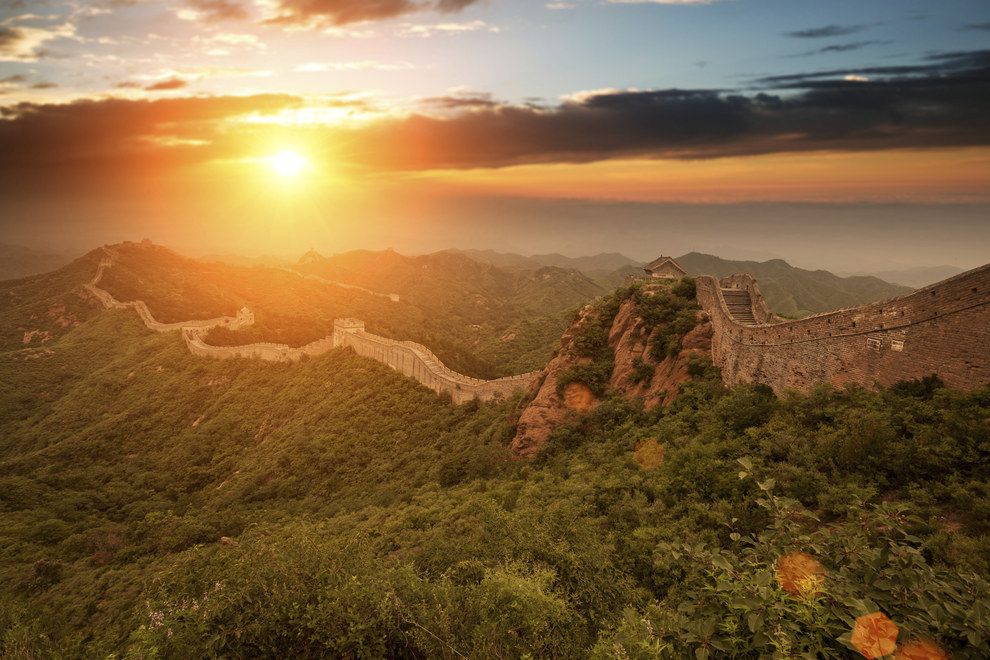 5. Great Wall of China, Jinshanling, China