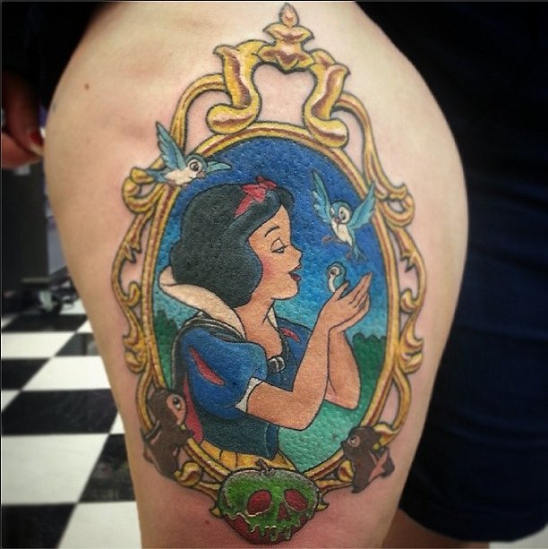 fairest disney tattoos