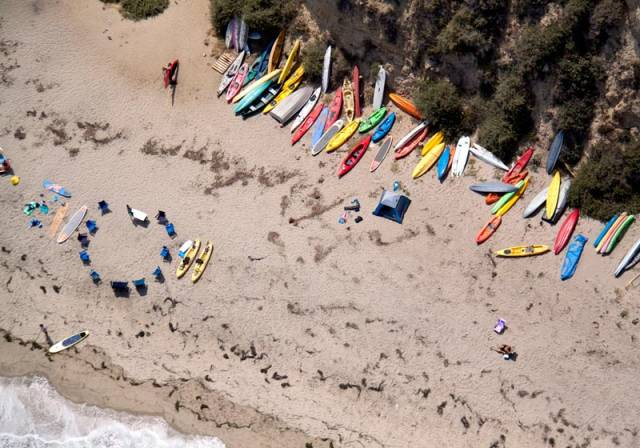 malibu kayaks aerial maison gray Beaches Around the World Seen from Above