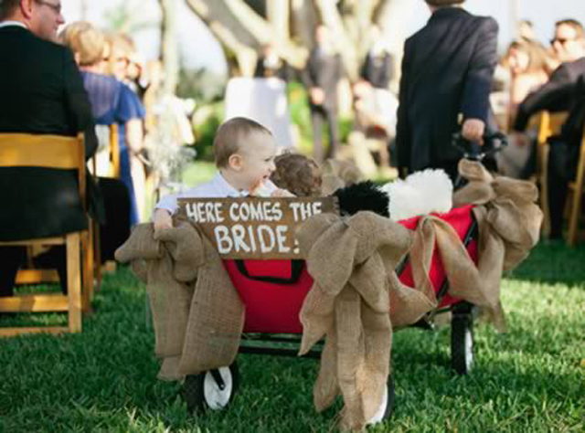 There are the Coolest Ring Bearers to Ever Walk Down the Aisle Wow