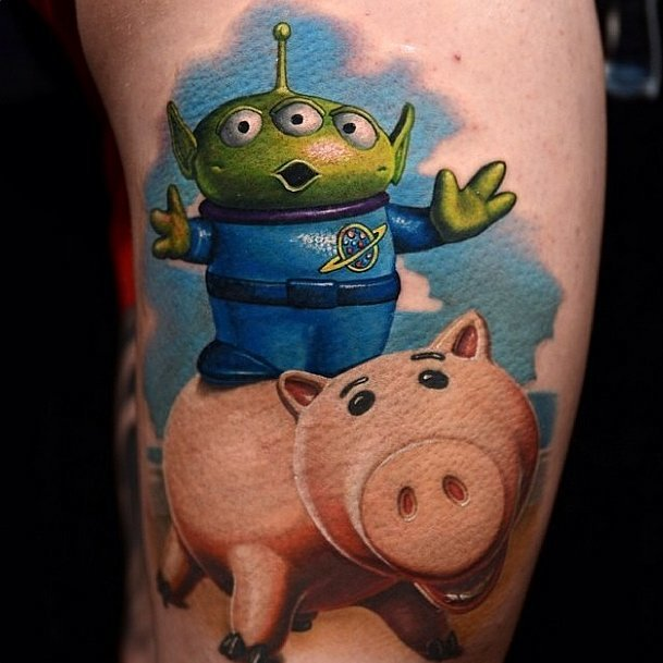 toystory disney tattoos