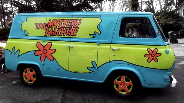 You Could Have Your Very Own 'Mystery Machine'