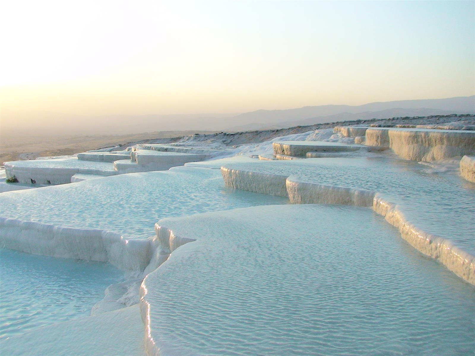 32 Natural Phenomena That Actually Exist. A Couple Of These Will Haunt Your Dreams.   Pamukkale
