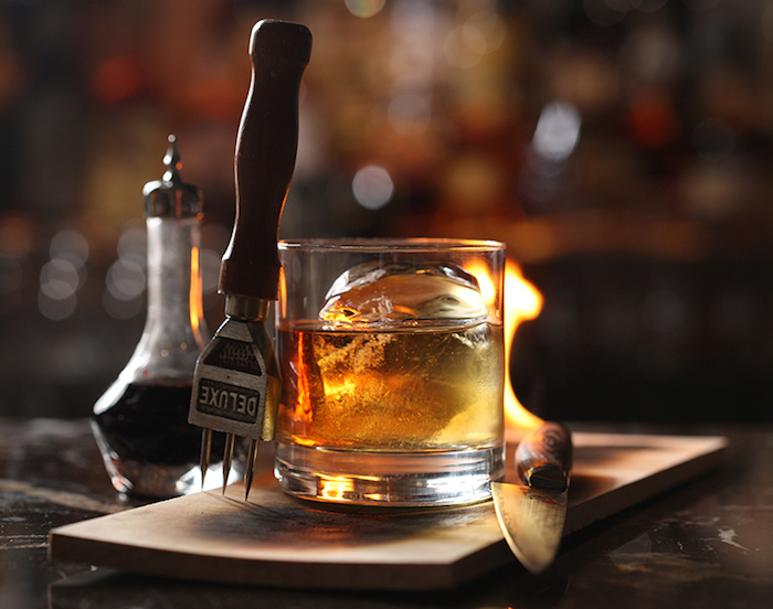 Fall Cocktails 2015_American Cut_Plank Smoked Old Fashioned