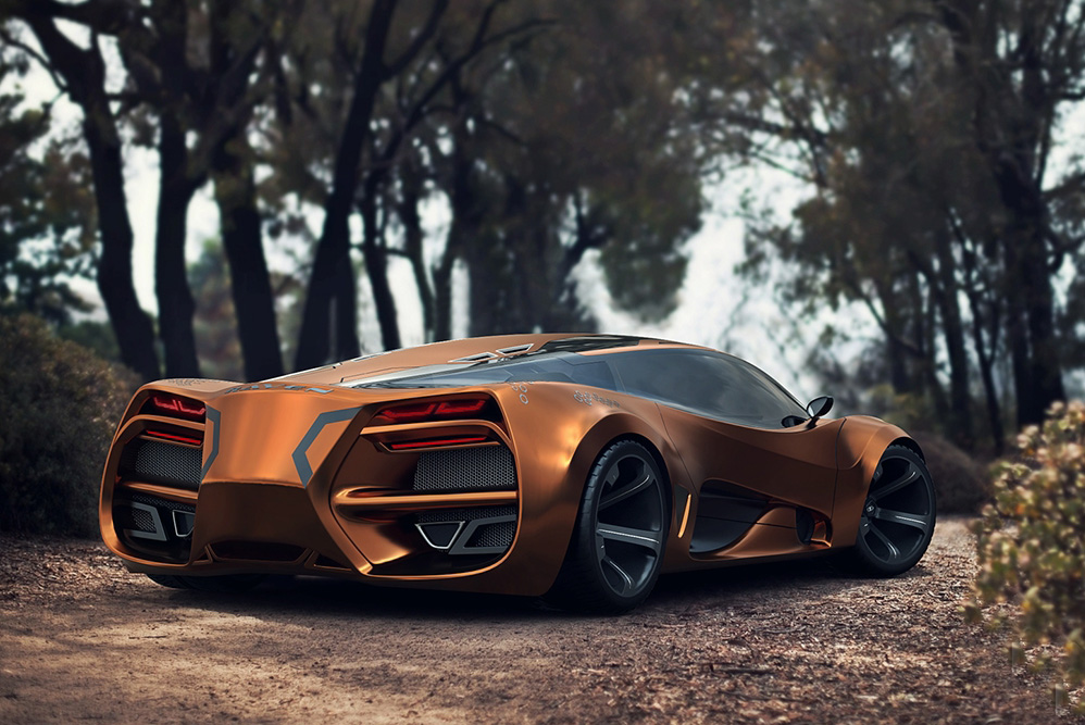 Introducing the Futuristic-Looking Lada Raven …A Supercar Concept