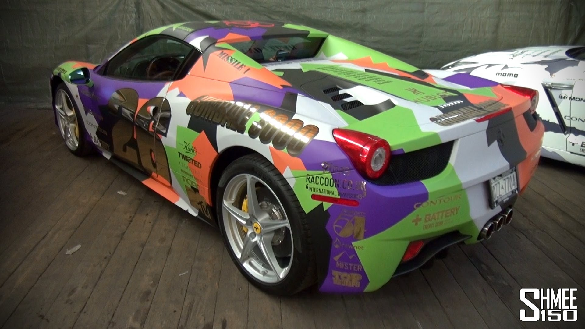 The Coolest And Craziest Colored Ferraris In The World
