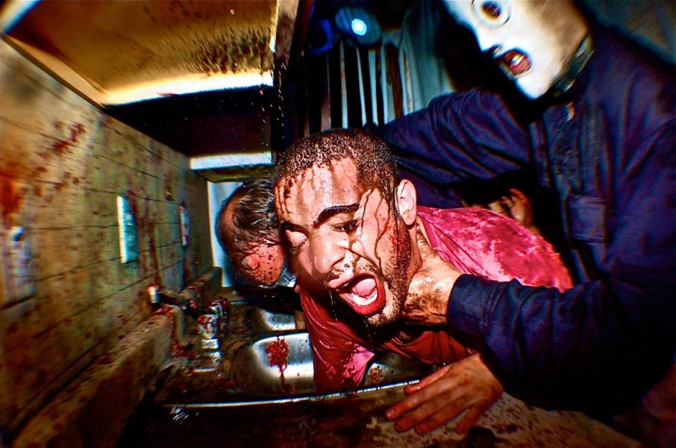 No one has ever completed the haunted house in its entirety - even a marine and adrenaline junkie did not make it through.