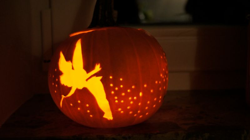 Sprinkle Some Fairy Dust on Your Pumpkin with this DIY Tinkerbell ...