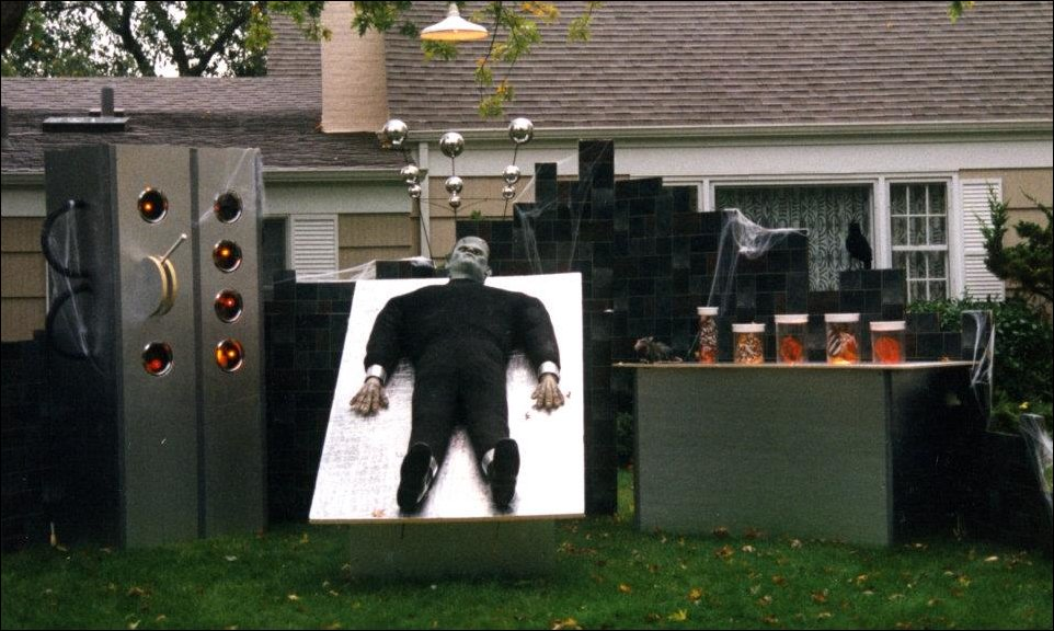 Frankenstein-Halloween-Decor