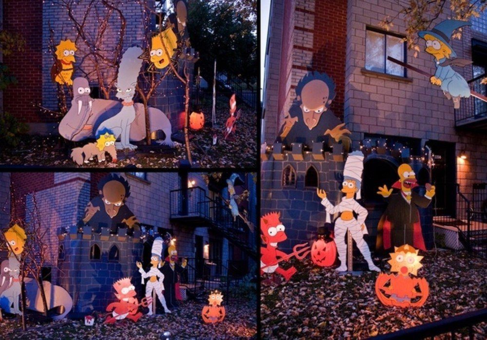 Simpsons-Halloween-Decor