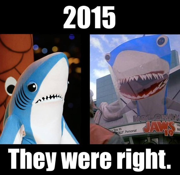 And finally the time you realised you'd seen Left Shark somewhere before.