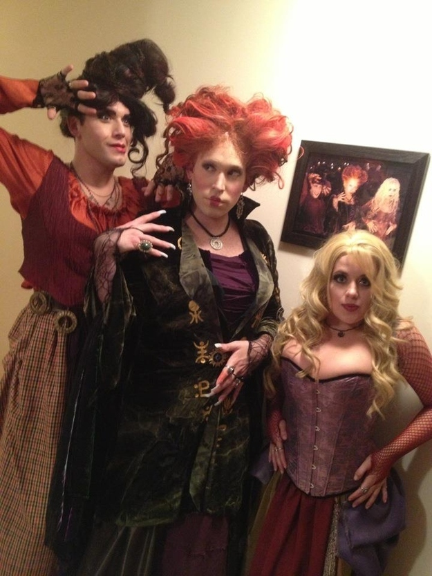 Because you know that dressing up as the Sanderson Sisters is the perfect costume for anyone at any age and for any race.  sc 1 st  Wow Amazing : three girl costume ideas  - Germanpascual.Com