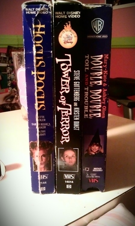 Now it's time to grab an old VHS (or just turn on ABC Family? Or Fox Family?):