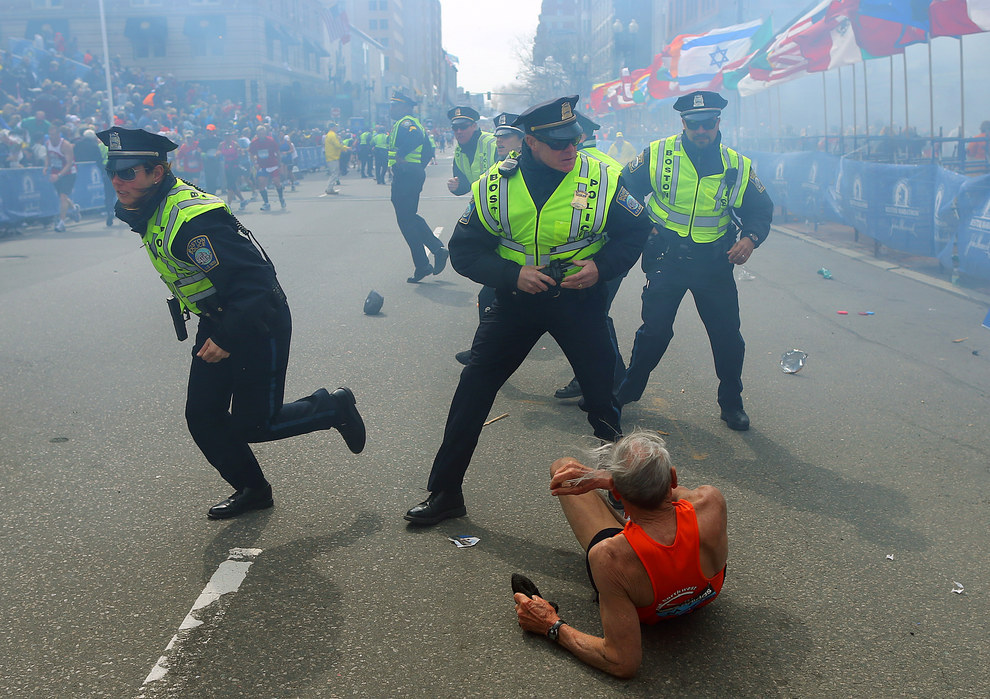 April 15, 2013 — Boston Marathon bombing