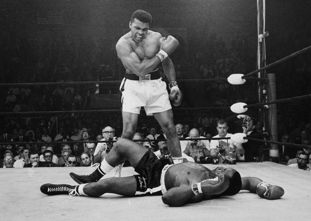 May 25, 1965 — Muhammad Ali vs. Sonny Liston