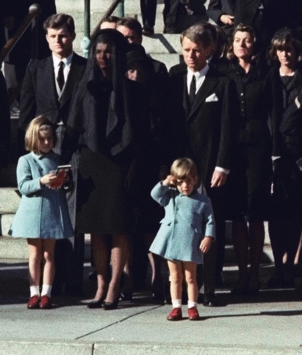 Nov. 25, 1963 — Burial of John F. Kennedy