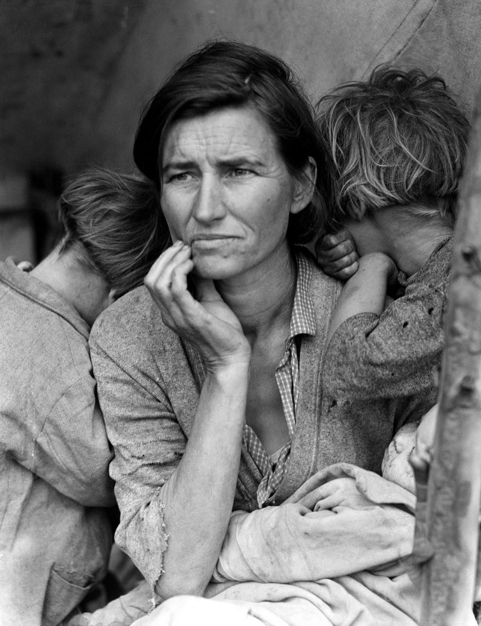 "March 1936 — ""Migrant Mother"""