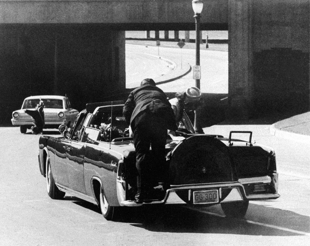 Nov. 22, 1963 — Assassination of President John F. Kennedy