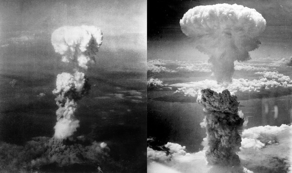 August 1945 — The bombing of Hiroshima and Nagasaki