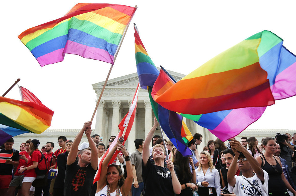June 26, 2015 — Legalization of same-sex marriage