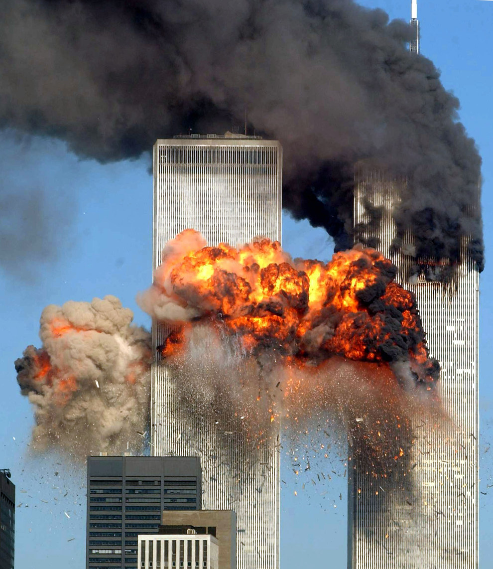 Sept. 11, 2001 — Attacks on the World Trade Center in New York City