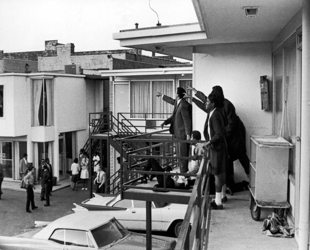 April 4, 1968 — Assassination of Martin Luther King Jr.