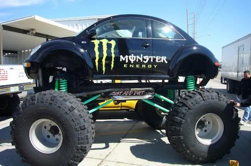 monster truck beetle