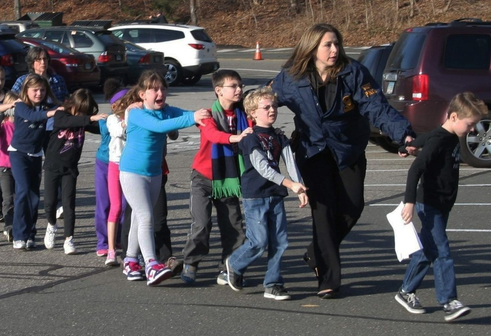 Dec. 14, 2012 — Sandy Hook Elementary School shooting
