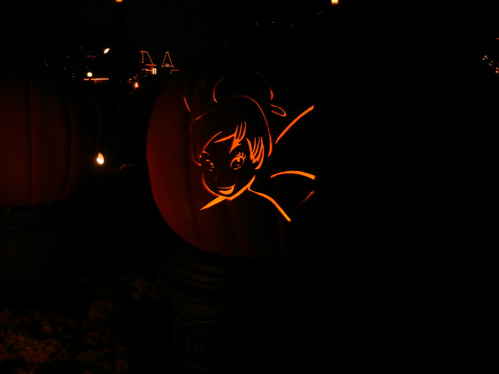 sprinkle some fairy dust on your pumpkin with this diy