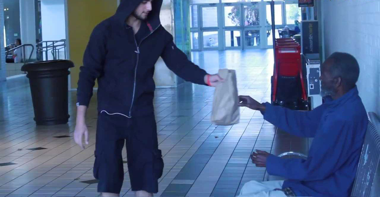 THROWING-FOOD-INFRONT-OF-HOMELESS-MAN-7