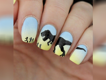 Unique nail art designs that tell the story about you wow amazing prinsesfo Choice Image
