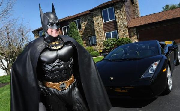 The beloved Batman impersonator who was killed in a crash after his tricked-out 'Batmobile' broke down