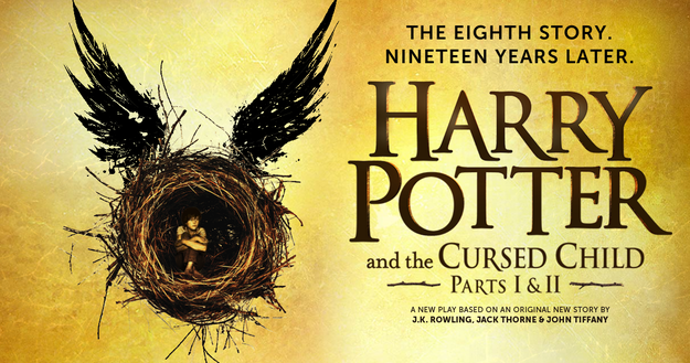 Tickets to The Cursed Child and some way of getting to London if you don't already live there.