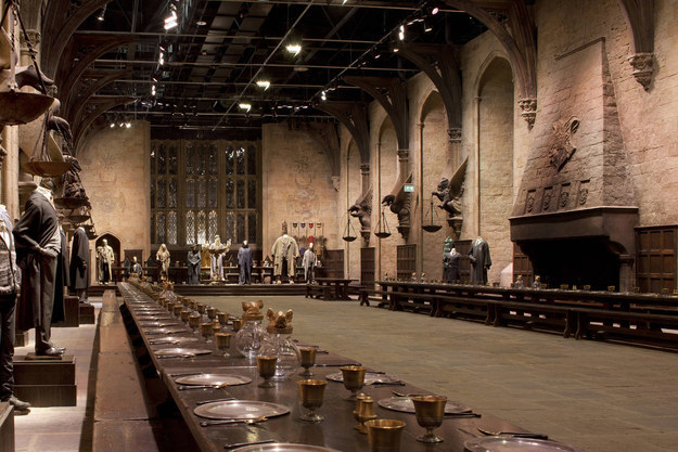 A sleepover at the Studio Tour.