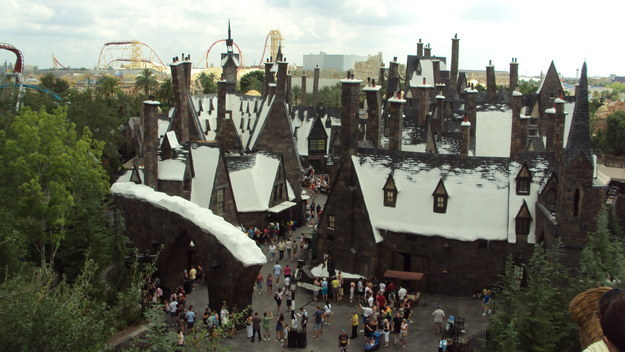For a Wizarding World theme park to open within 10km of your house.