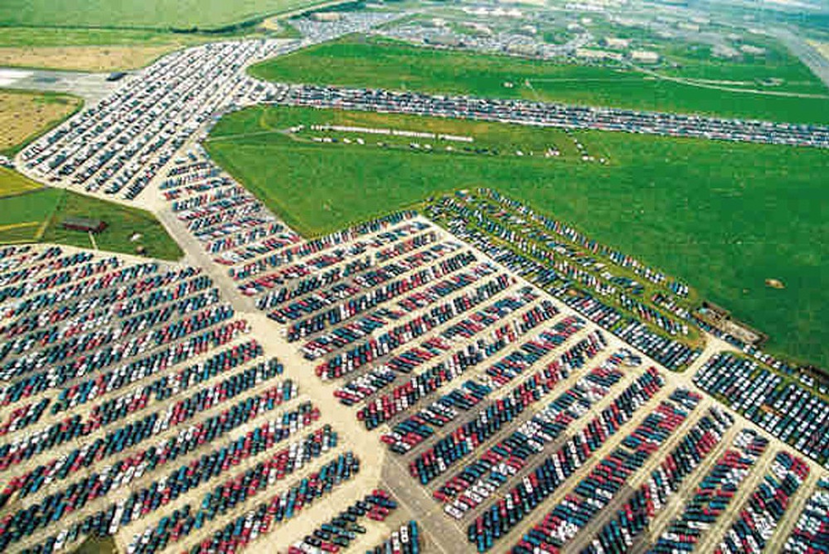 The Odd Life of Unsold Cars That End Up in Parking Graveyards – Wow ...