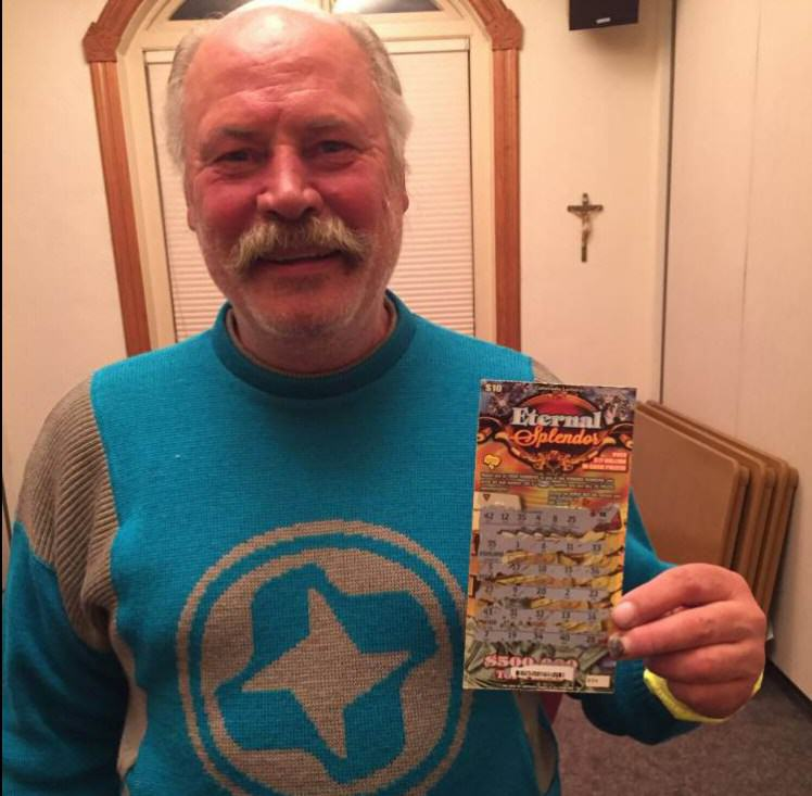UNILADs Homeless Man Becomes Rich Overnight After Winning On Scratch Card image