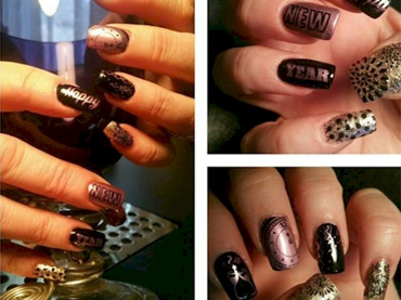 10 Nail Art Designs That Will Complete Your New Years Eve Look
