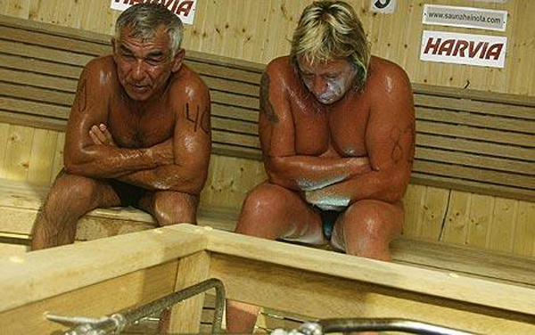 World Sauna Championships 16 minutes 15 seconds