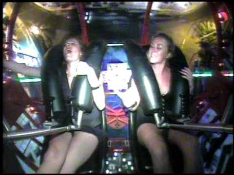 A Woman Has A Huge Orgasm On A Slingshot Ride Hilarious Moment