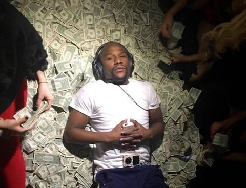 Image result for floyd mayweather money