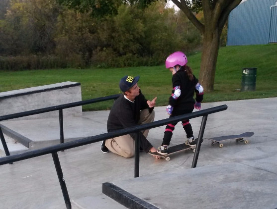 Peyton Had Always Been Under The Impression That Skateboarding Was Something Exclusive For Boys But After Her Mother Explained To Her That There Was No