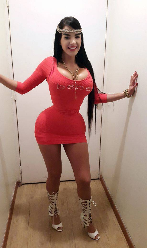 She Got 20-Inch Waist, Did Plastic Surgery To Enhance Her Boobs And Butt - Wow Amazing