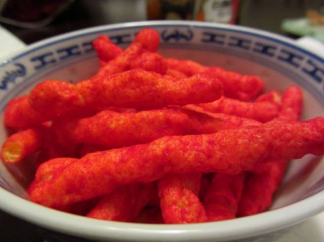 hot cheetos