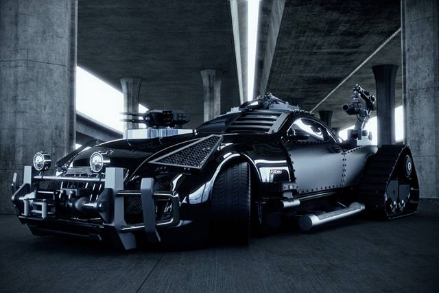 Zombie-Fighting-Maybach-Exelero-1