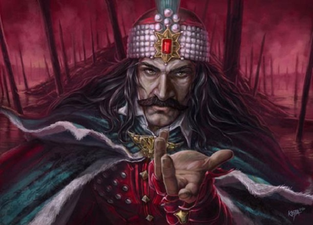 Real Dracula, vlad the impaler